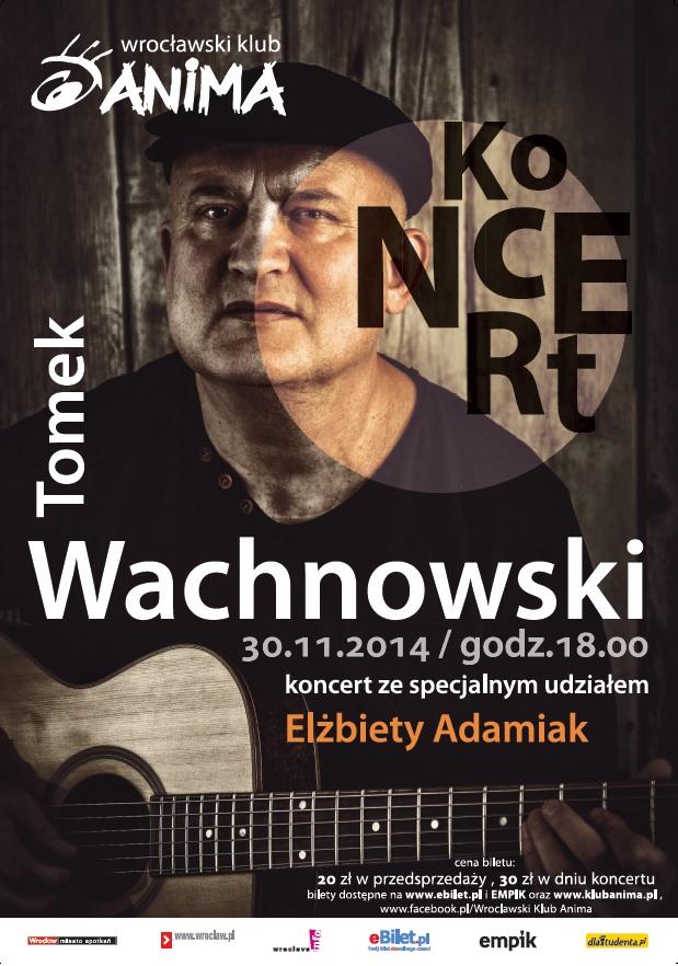 Andrzejkowy koncert Tomka Wachnowskiego
