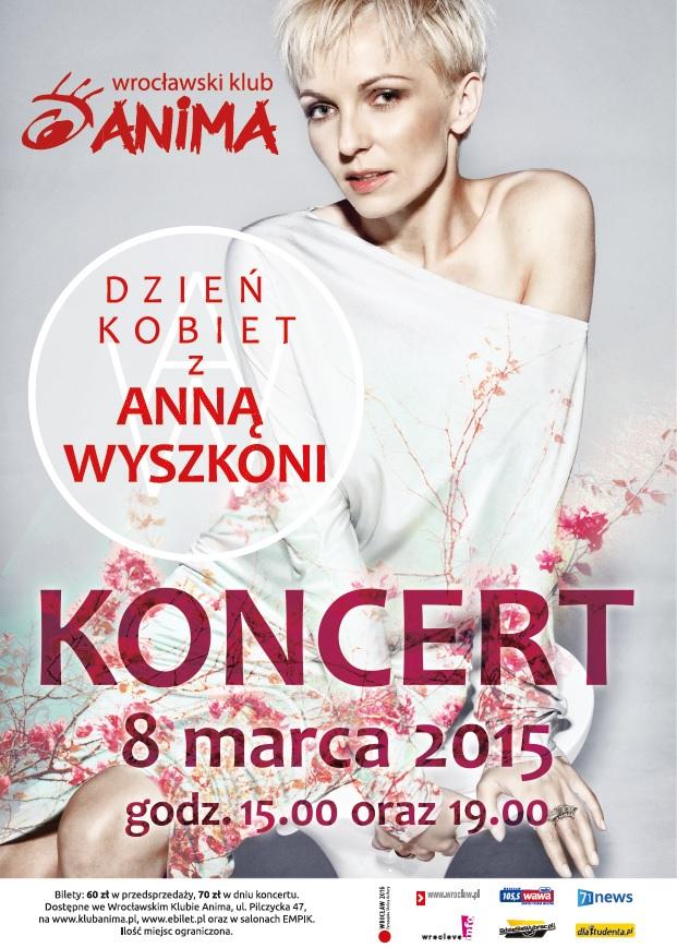 BRAK BILETÓW na koncert Anny Wyszkoni