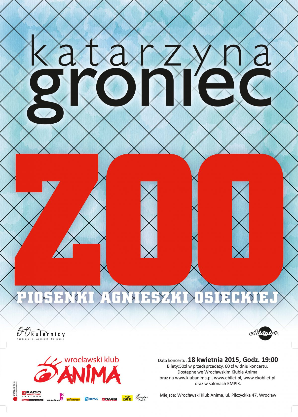 Katarzyna Groniec- KONCERT  ZOO