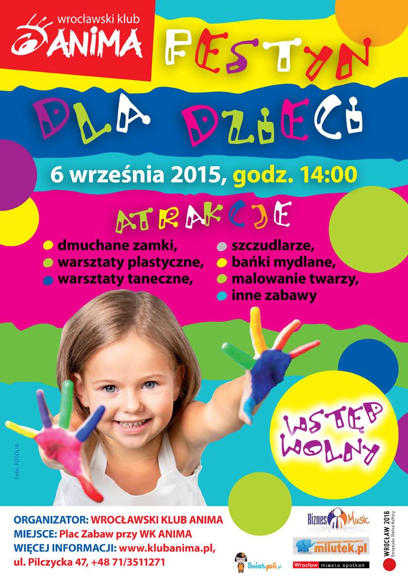 Festyn dla dzieci (6.09) – wstęp wolny!