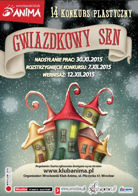 """14 konkurs plastyczny """"GWIAZKOWY SEN"""""""