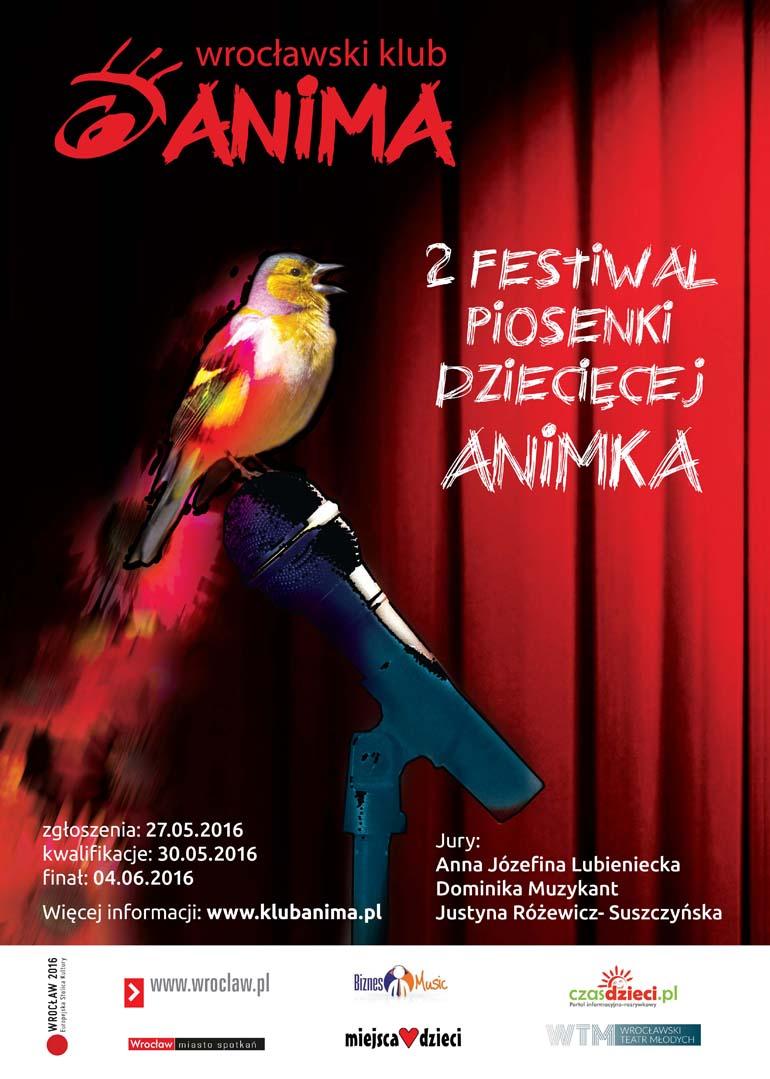 """5.Festiwal piosenki dziecięcej """"ANIMKA"""""""