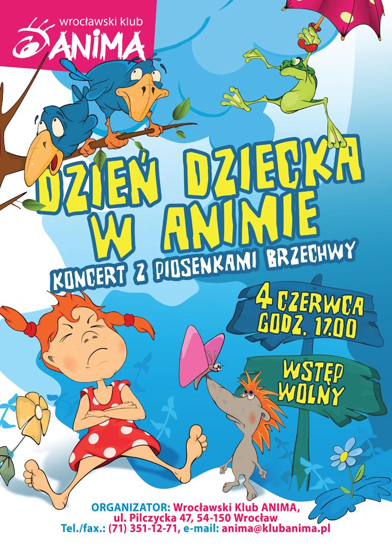 Dzień dziecka- koncert z piosenkami Brzechwy