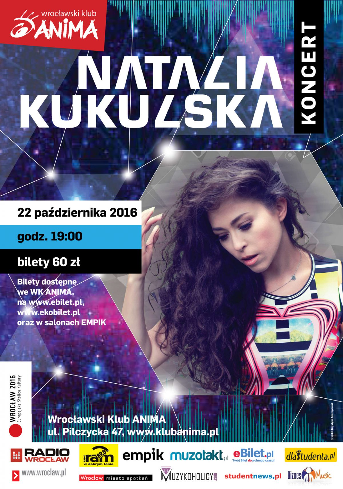Koncert NATALII KUKULSKIEJ – 22.10