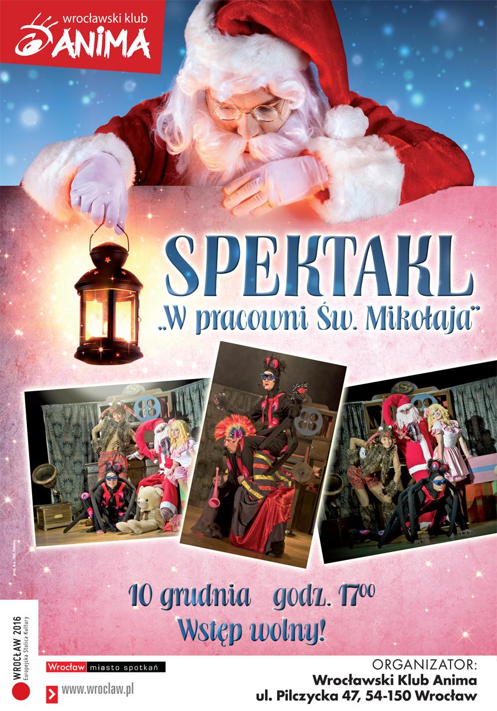 W pracowni Św.Mikołaja – SPEKTAKL