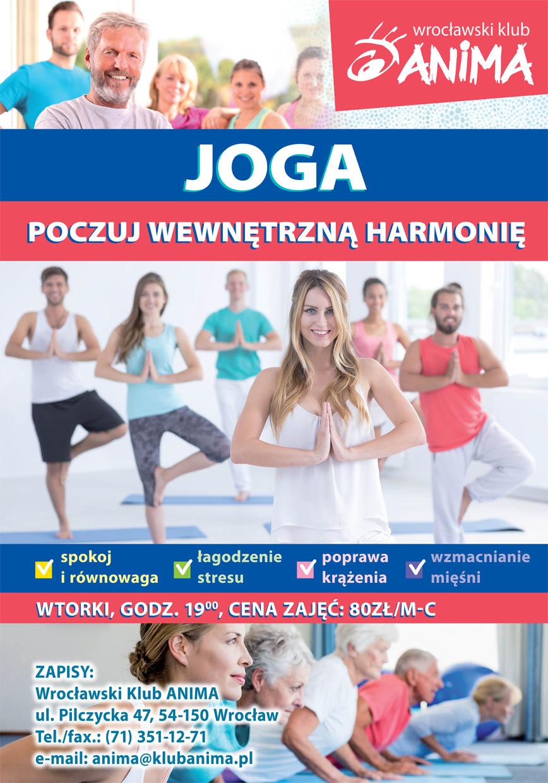 Dodatkowe zajęcia z jogi i relaksacji