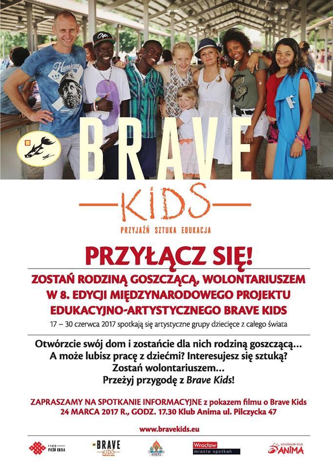 Brave Kids 2017 – spotkanie informacyjne