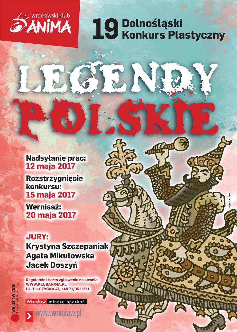 """19 konkurs plastyczny pt.""""Legendy Polskie"""""""