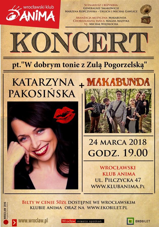 Koncert Katrzyna Pakosińska + Makabunda