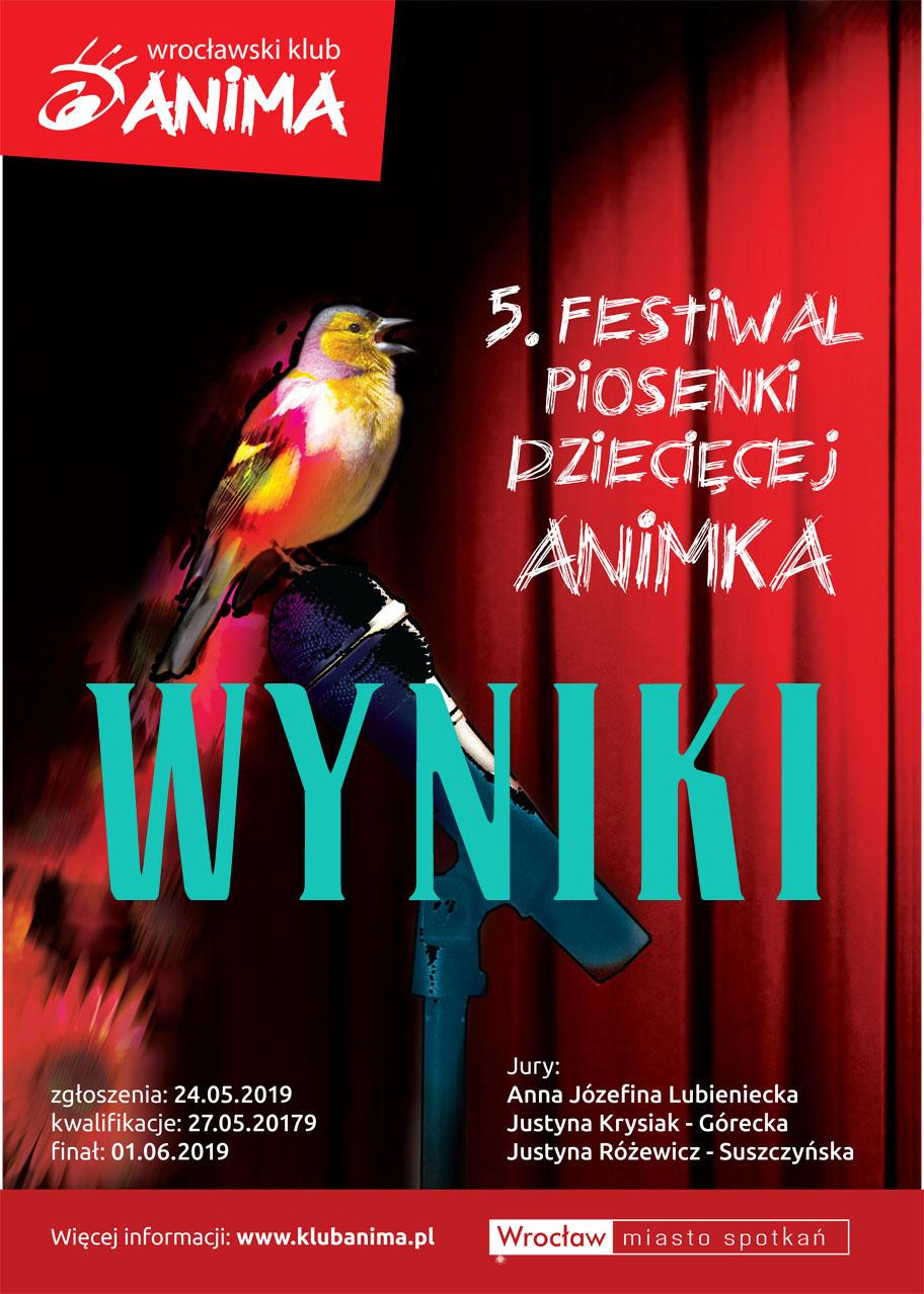 Laureaci V Festiwalu ANIMKA