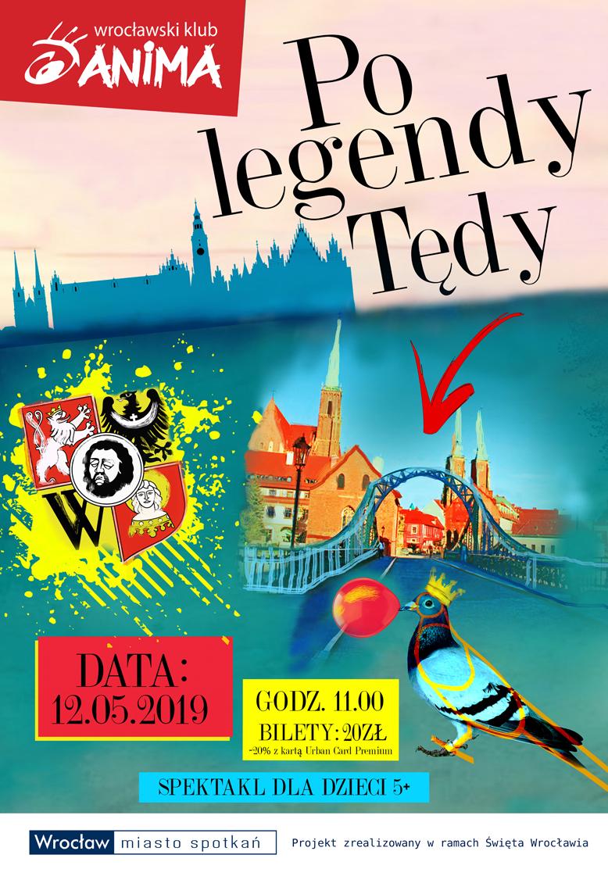 """""""Po legendy tędy."""" – spektakl dla dzieci  +5"""