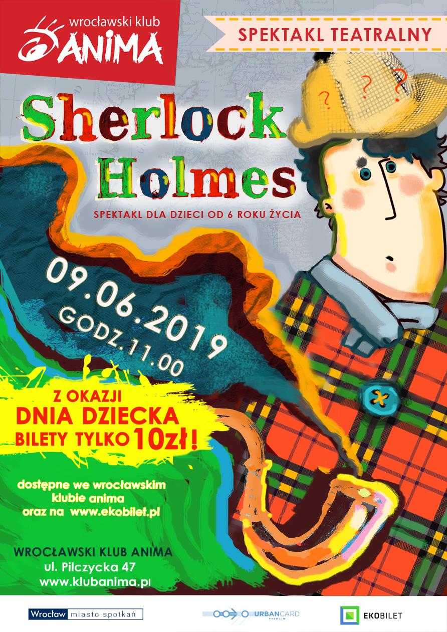 """""""Sherlock Holmes"""" – Spektakl  dla dzieci"""