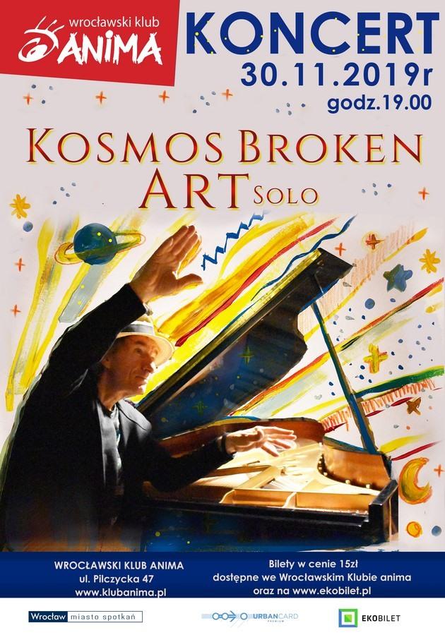 "Koncert ""Kosmos Broken Art solo"" już 30 listopada!"