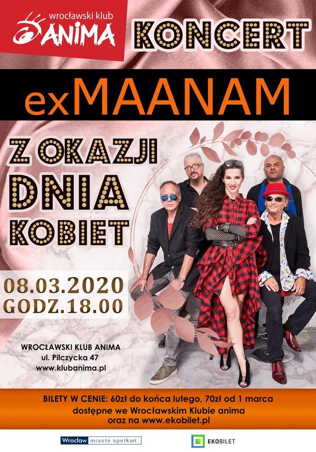 Koncert zespołu exMaanam z okazji dnia kobiet