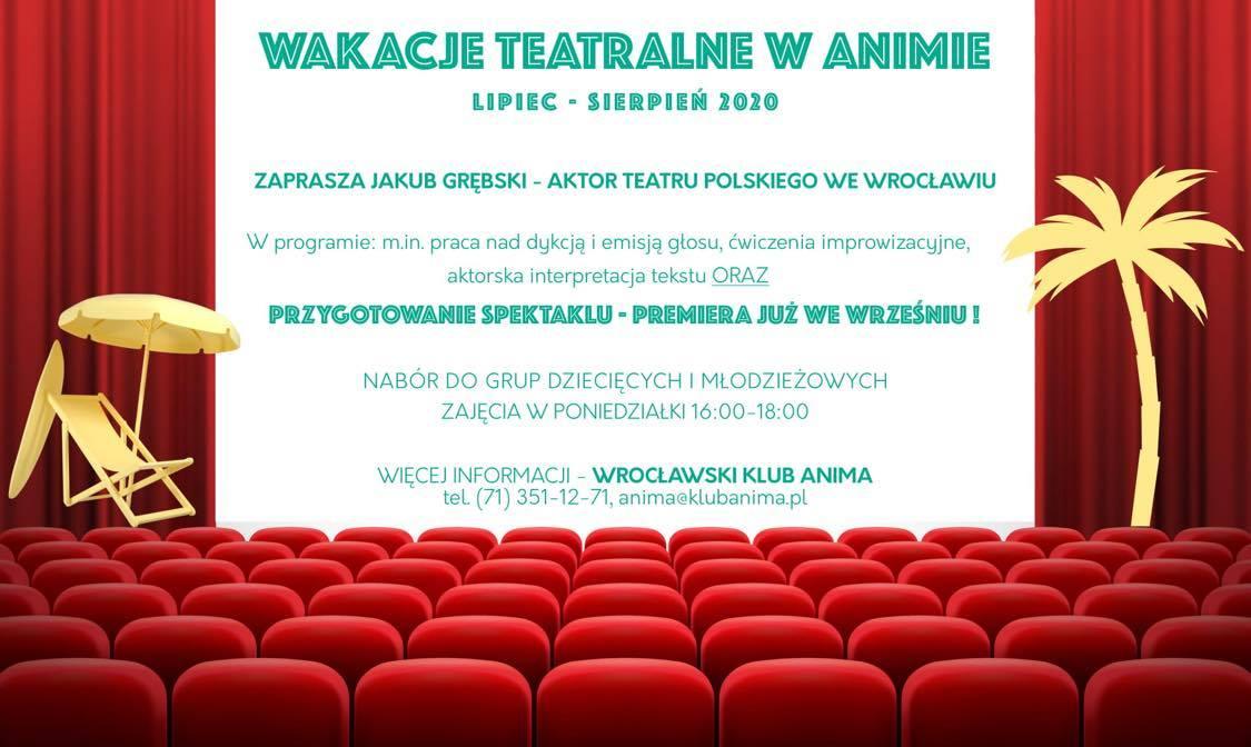 Wakacje teatralne w animie