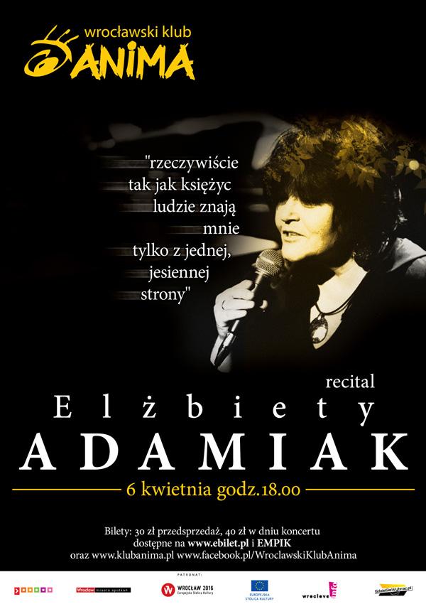 Recital Elżbiety Adamiak