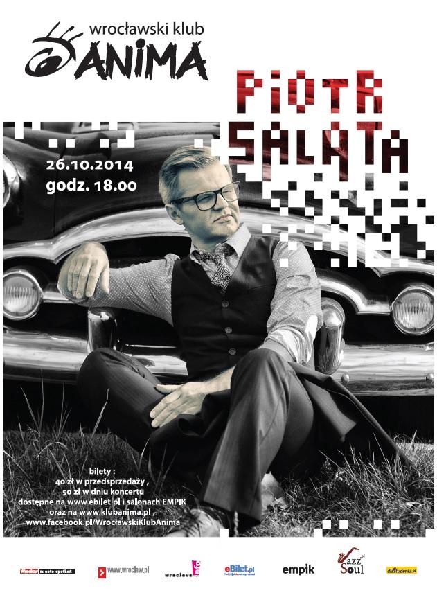 Koncert Piotra Salaty już 26.X