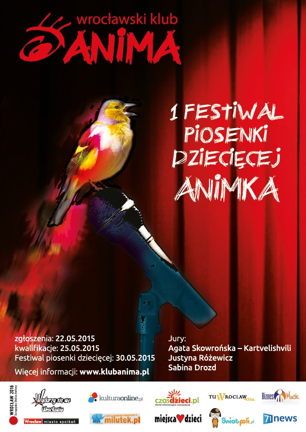 I Festiwal piosenki dziecięcej ANIMKA