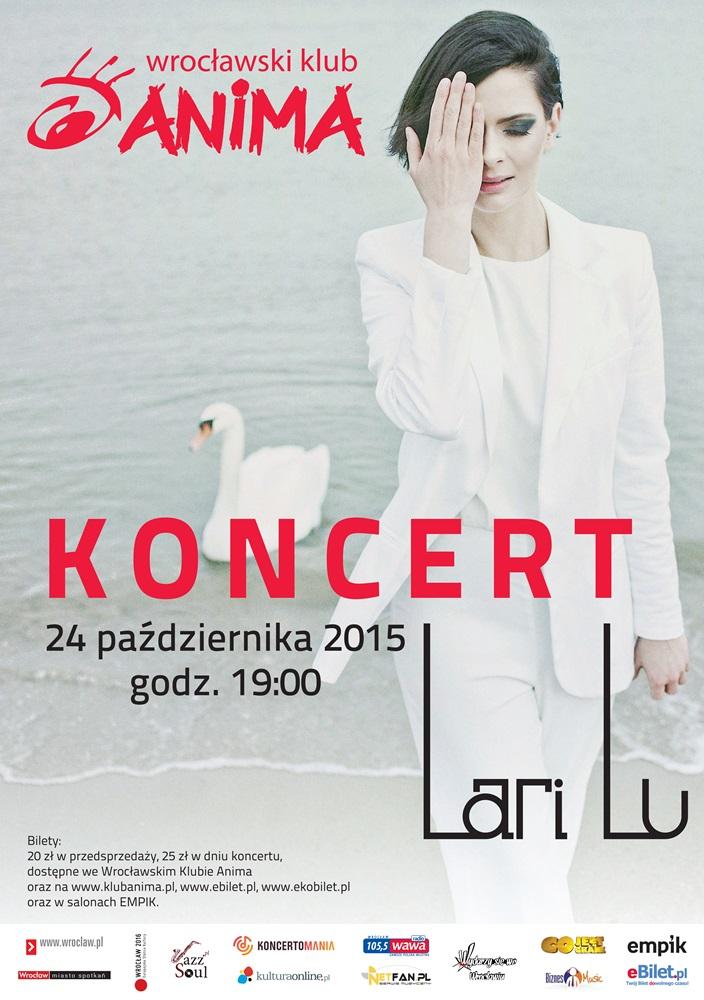 Koncert LARI LU 24.10.2015