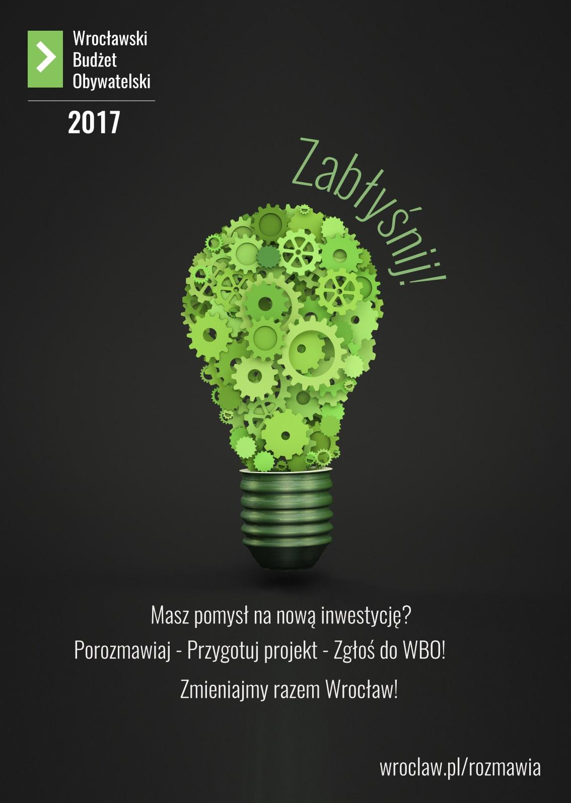 Wrocławski Budżet Obywatelski -WBO 2017.