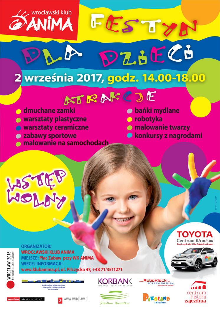 Festyn dla dzieci już 2 września