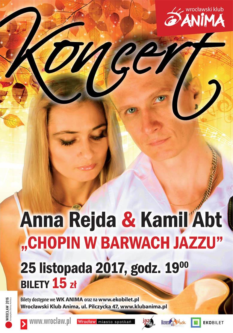 Koncert!  Anna Rejda & Kamil Abt