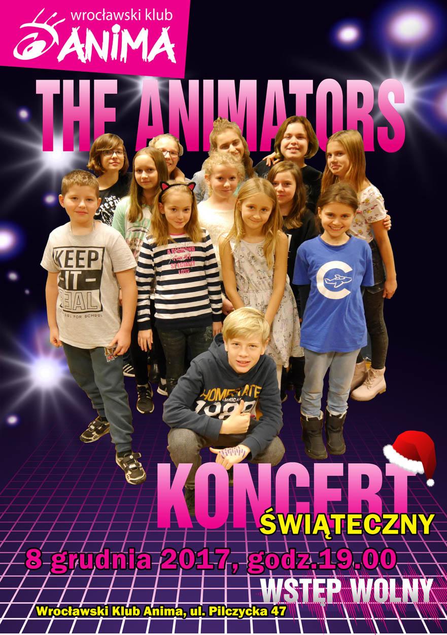 Koncert Świąteczny zespołu The Animators