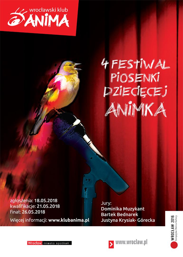 4 Festiwal piosenki dziecięcej ANIMKA