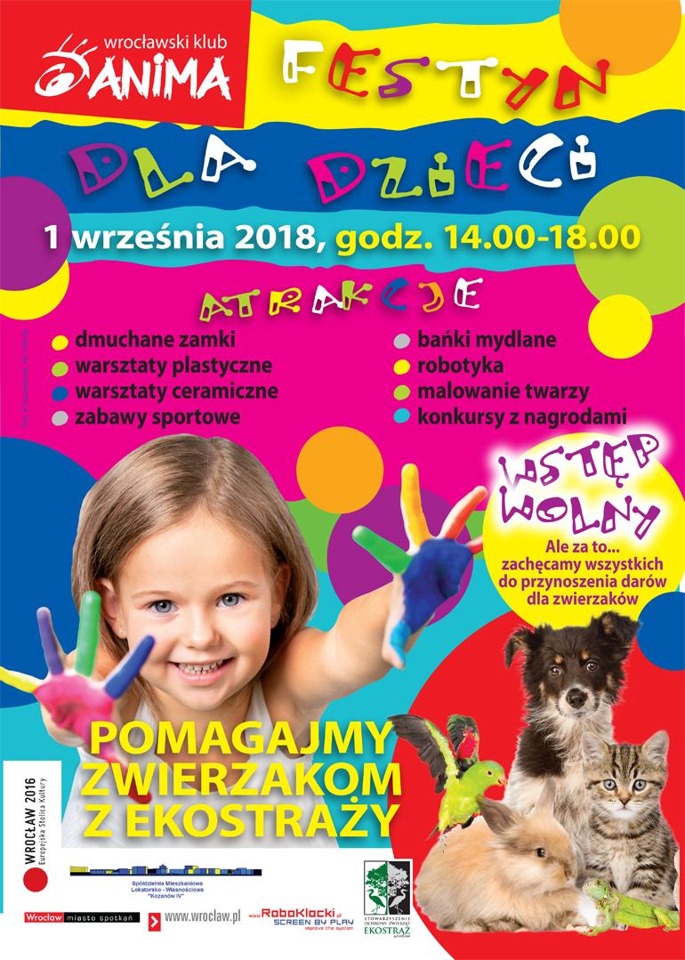 Festyn dla dzieci już 1 września!