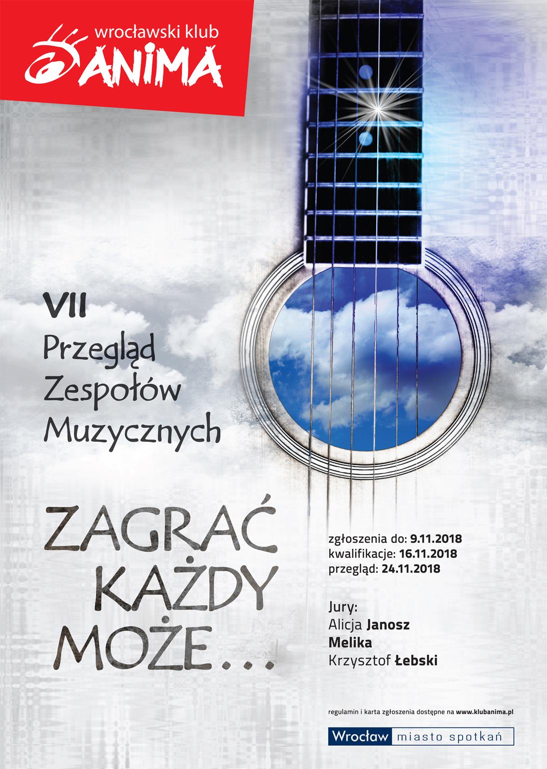 """VII Przegląd Zespołów Muzycznych """"Zagrać każdy może"""""""