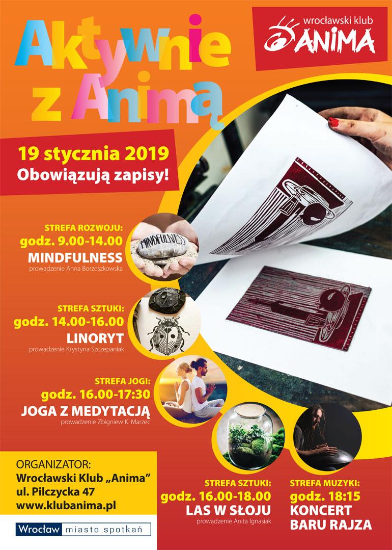 Aktywnie z Animą 19 stycznia 2019r.