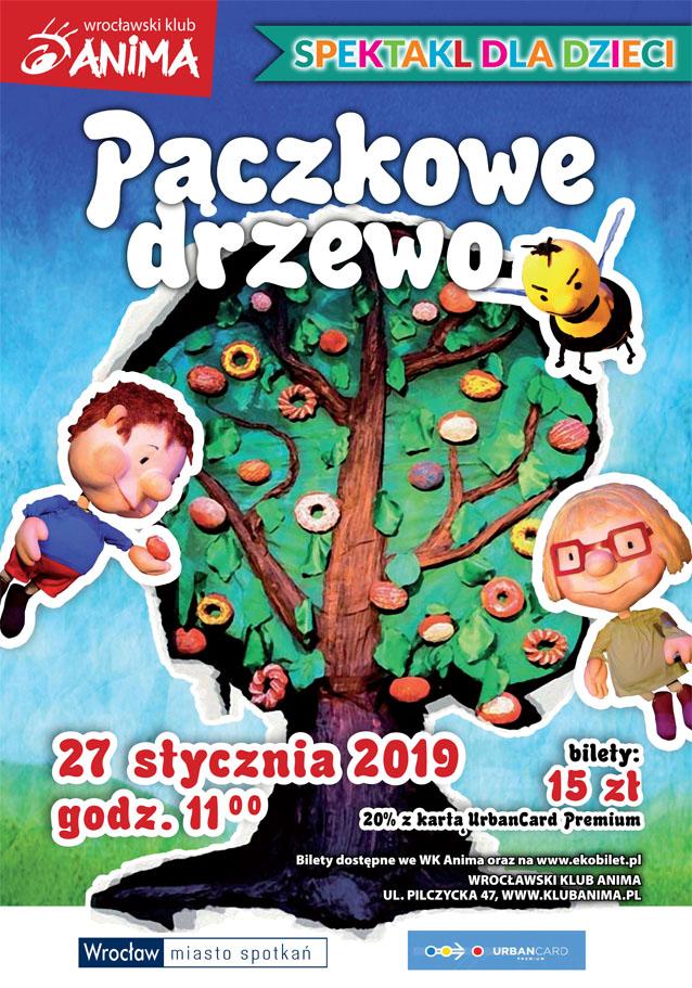 """Spektakl """" Pączkowe Drzewo"""" 27.01.2019r."""