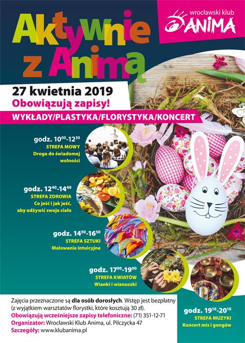 Aktywnie z Animą – 27.04.2019r.