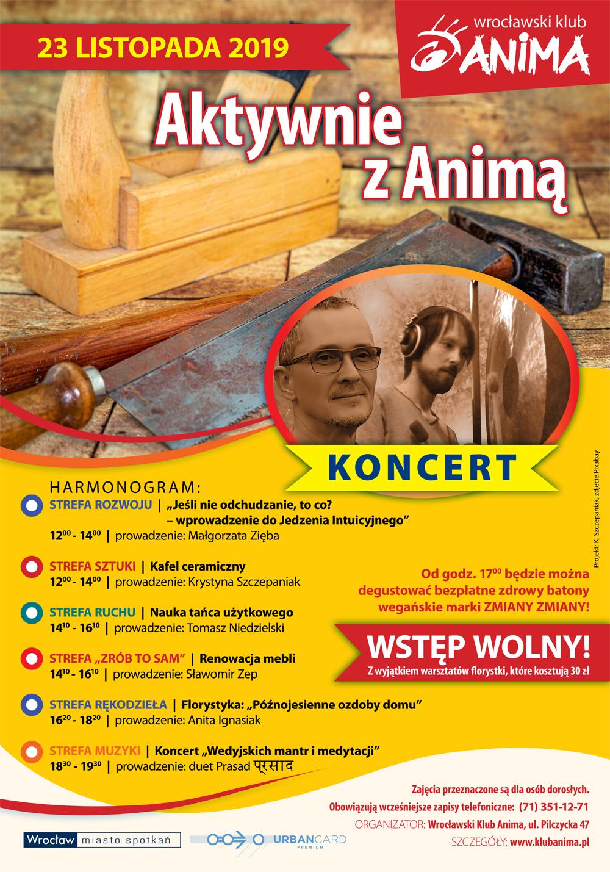 Aktywnie z Animą! Edycja listopadowa