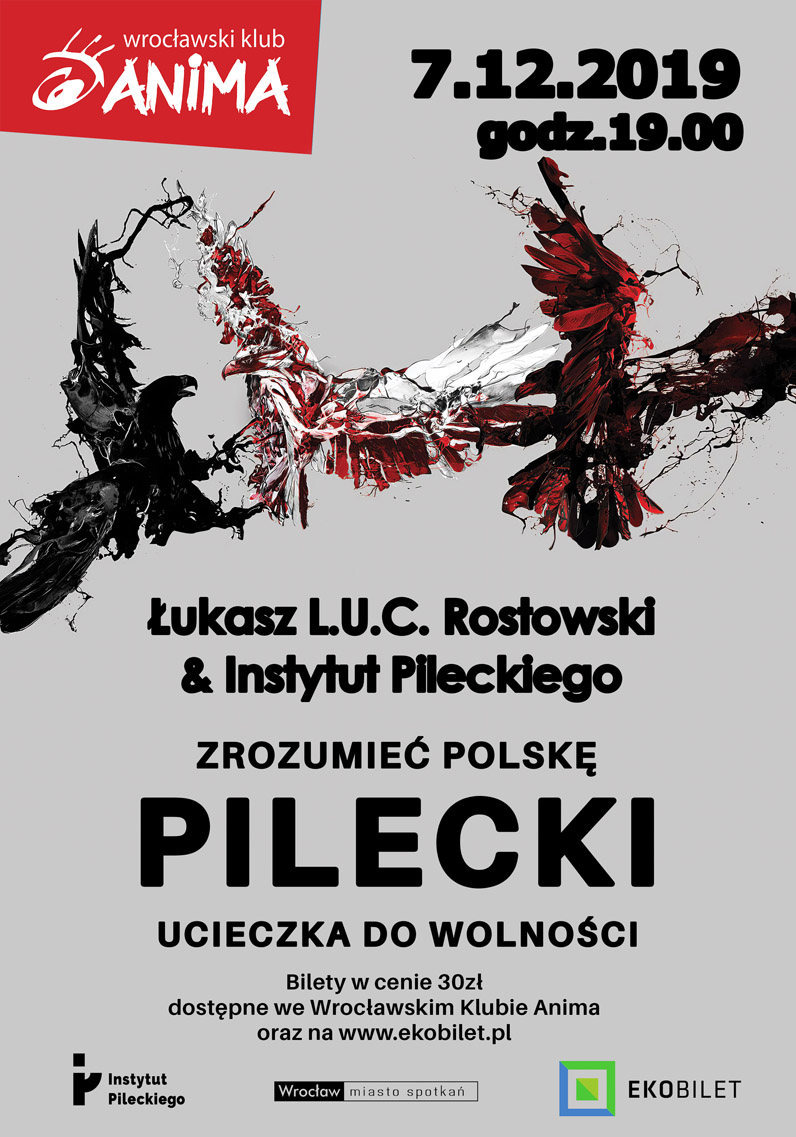 """""""Pilecki. Ucieczka do wolności""""  – koncert L.U.C"""