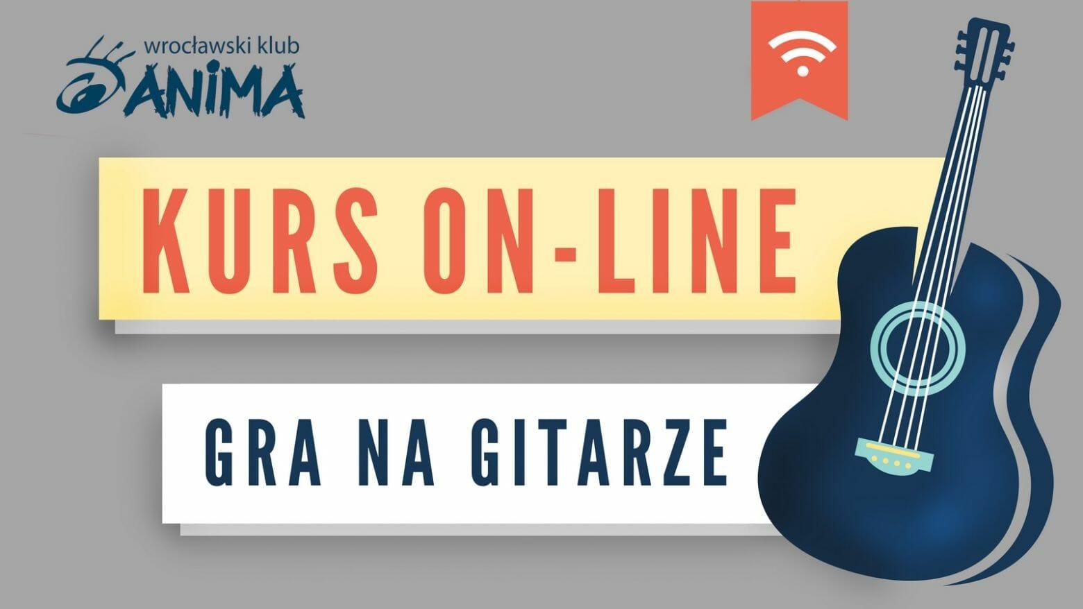 Kurs gitary dla początkujących online