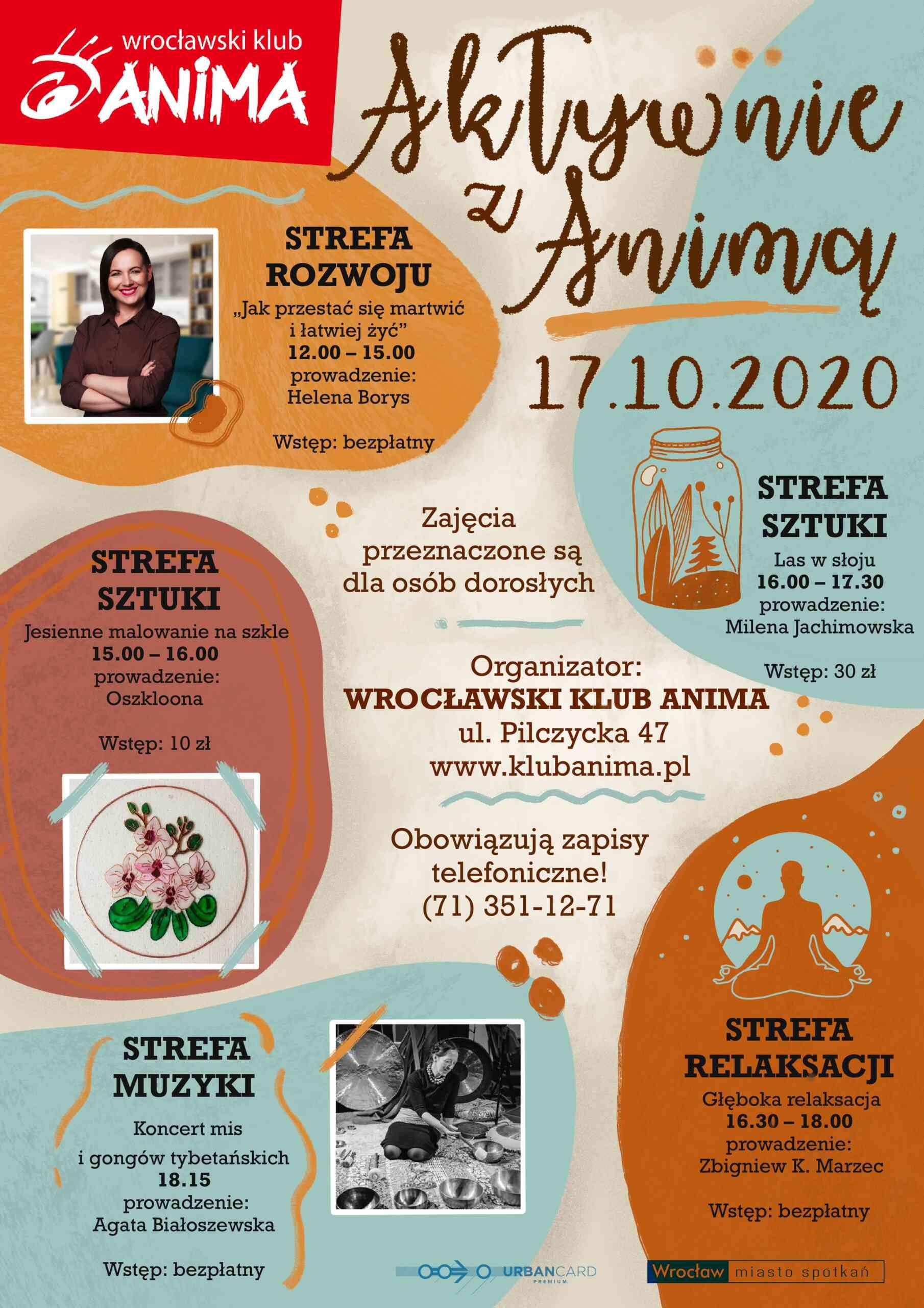 Aktywnie z Animą – edycja październikowa