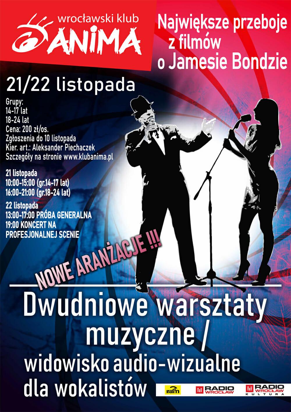 Dwudniowe warsztaty muzyczne/widowisko audio-wizualne dla wokalistów !!!