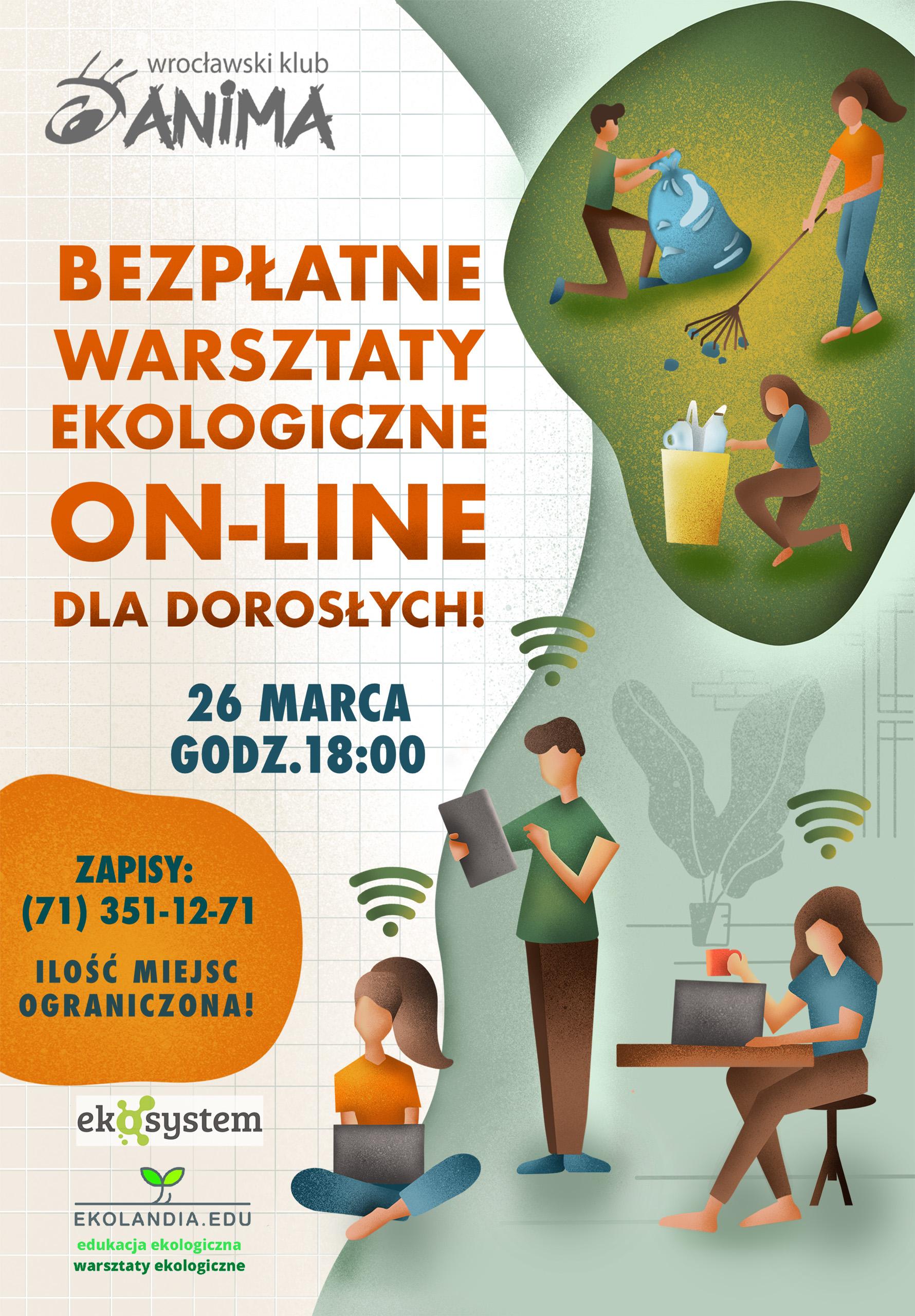 Warsztaty ekologiczne online dla dorosłych!