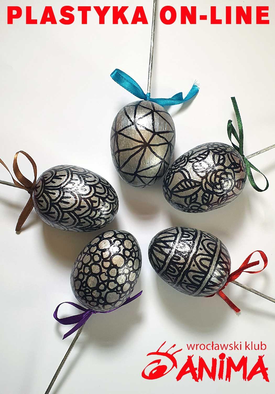 Warsztat plastyczny on-line: Wielkanocne srebrne jajka