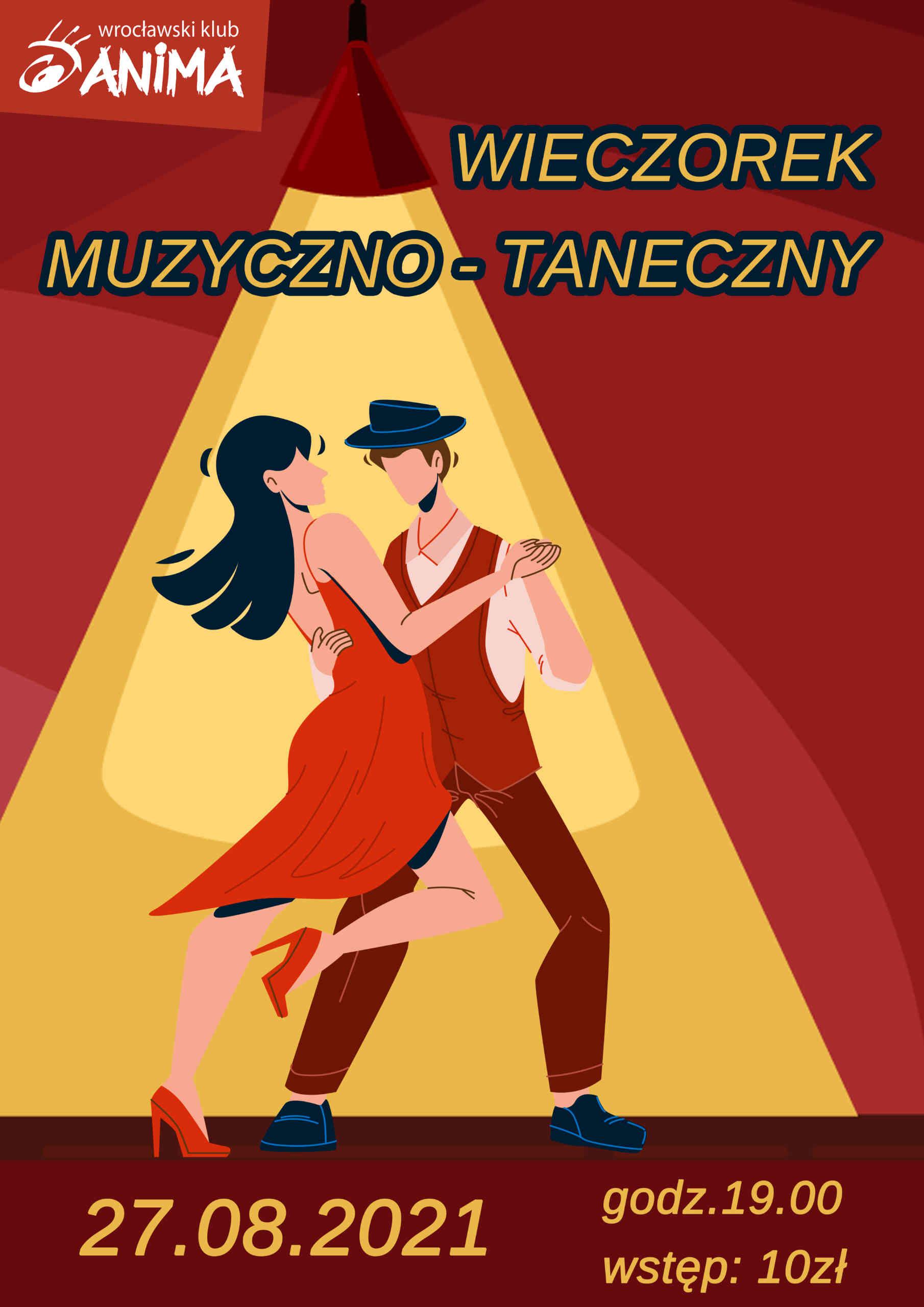 Wieczorek muzyczno – taneczny 27 sierpnia